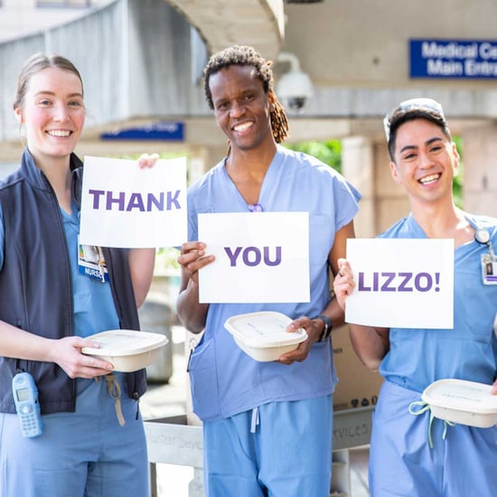Lizzo Donates Lunch to Washington Medical Staff