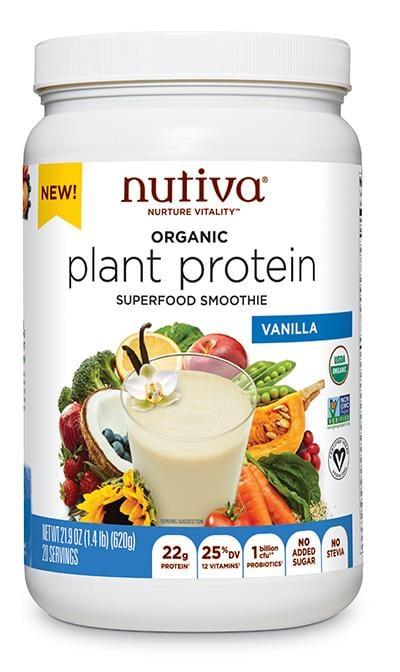 Nutiva Organic Plant Protein Superfood Smoothie