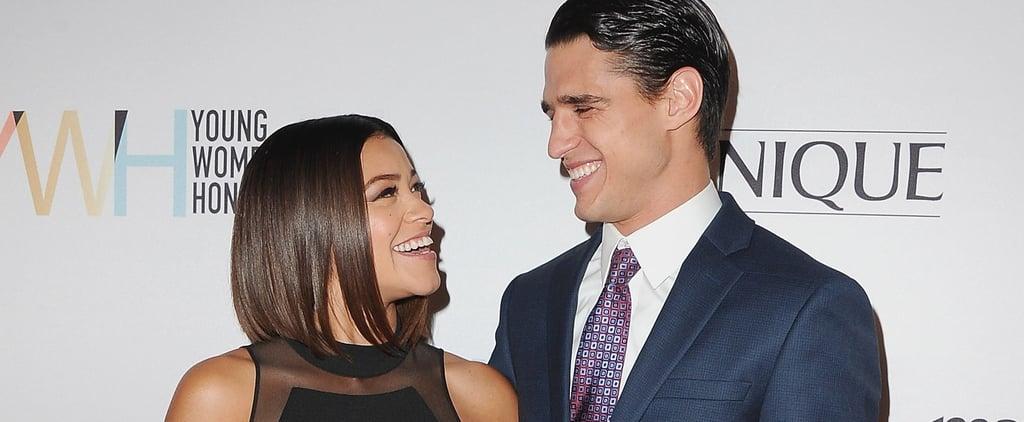 Gina Rodriguez and Joe LoCicero at Young Women's Honors Gala