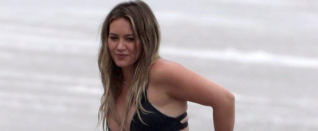 Hilary Duff's Strappy Bikini Is a Summer Staple For a Reason