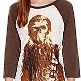 Raglan-Sleeve Baseball T-Shirt ($15, originally $26)