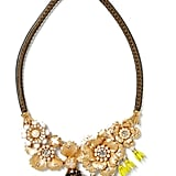 Banana Republic Floral Bell Focal Necklace (£45)
