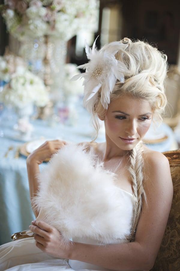 Cinderella Bridal Look