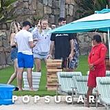 Joe Jonas and Sophie Turner Kissing in Cabo San Lucas Photos