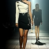 She took to the runway again for the Lanvin Spring 2012 show.