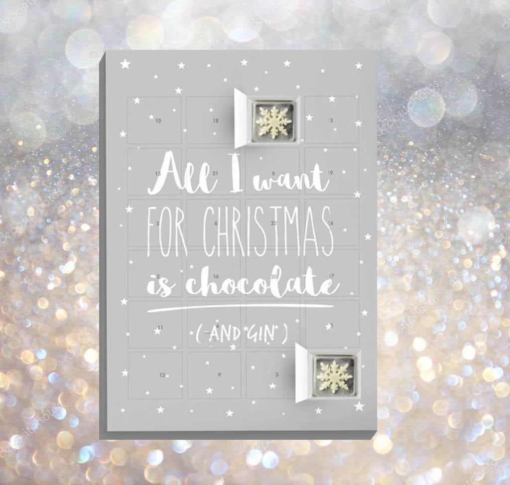 Gin Chocolate Advent Calendar