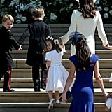 Jessica Mulroney's Blue Dress at Royal Wedding 2018
