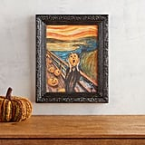 Halloween Pumpkin Scream Framed Wall Art