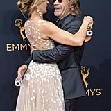 Felicity Huffman and William H. Macy at 2016 Emmys