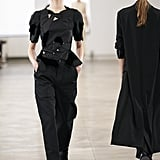 Puffy Sleeves on The Row Runway at New York Fashion Week