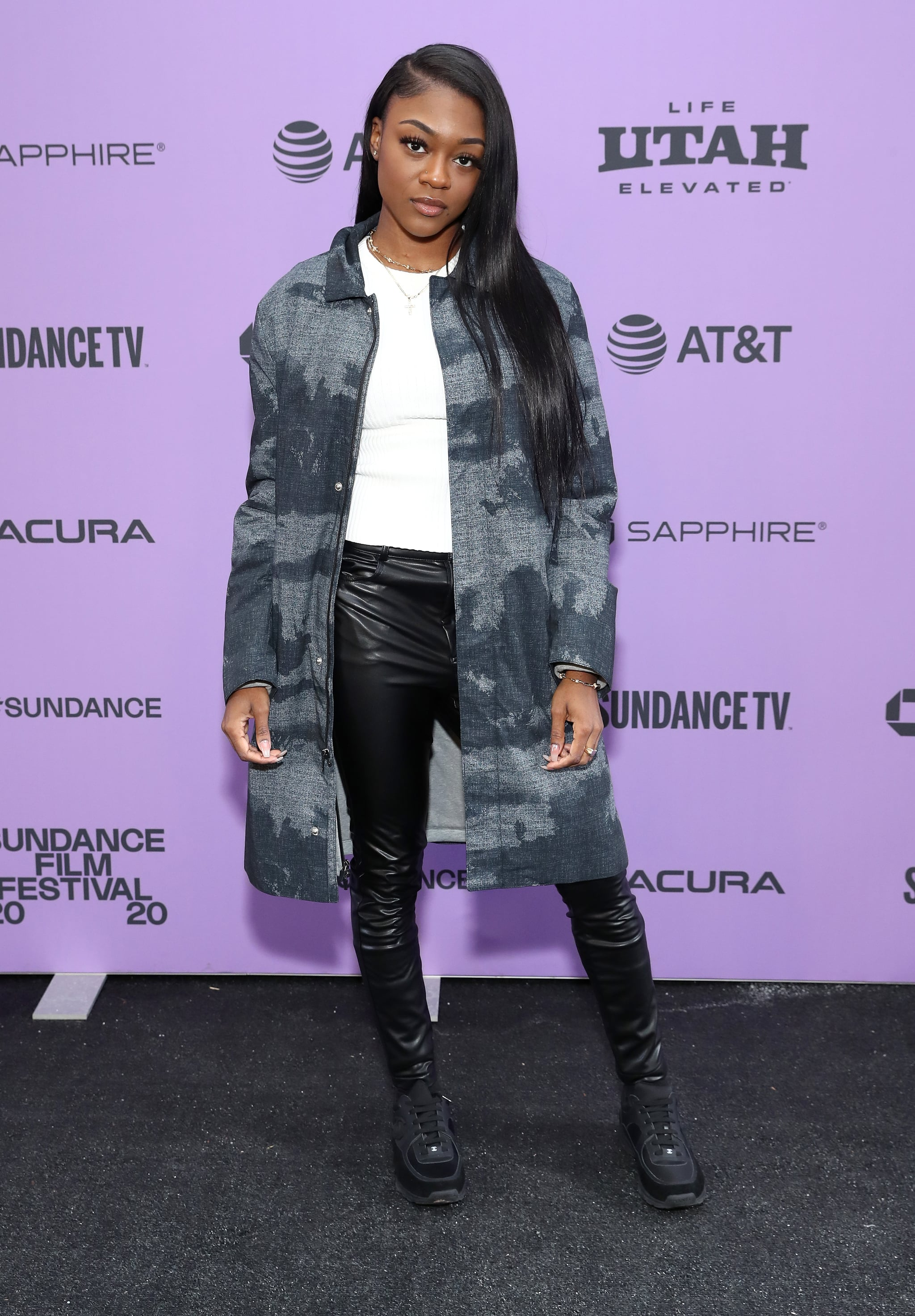PARK CITY, UTAH - JANUARY 25: Imani Lewis attends the 2020 Sundance Film Festival -