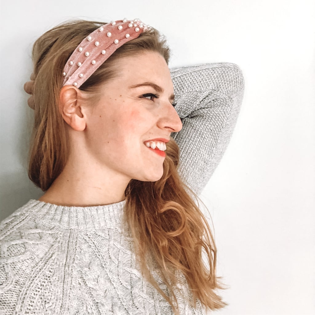 Amazon Makone Wide Knot Pearl Headband Review