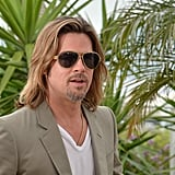 Brad Pitt promoted Killing Them Softly in Cannes.