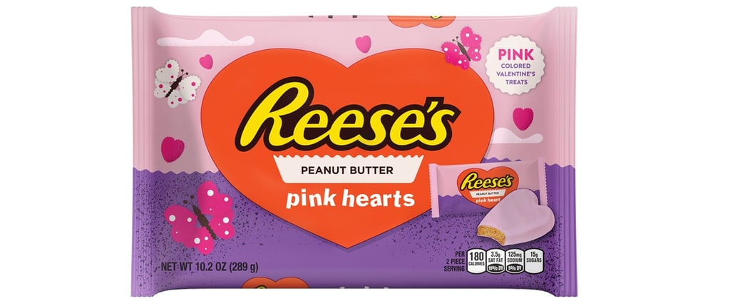 Valentine's Day Candy Just Got a Major Upgrade Thanks to Millennial Pink Reese's Hearts!