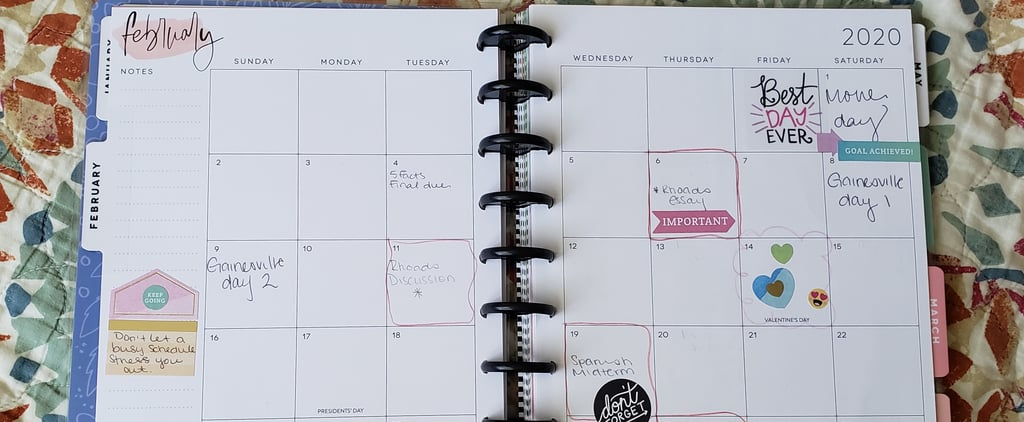 How Keeping a Planner Helps Me Stay Organised in College