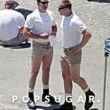 Who Wears Short Shorts? Bradley Cooper Wears Short Shorts!