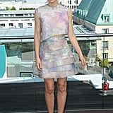Jessica Biel struck a pose at the Total Recall photocall in Berlin.