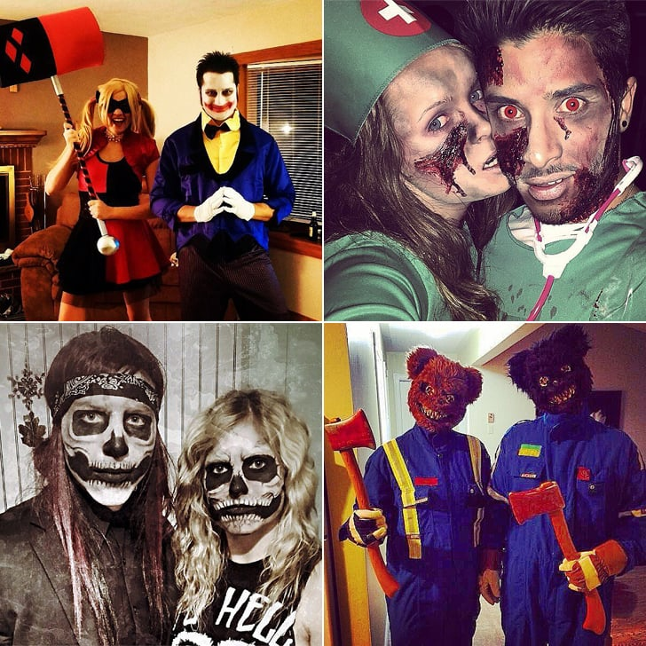 31 halloween costumes for couples who want to scare the sht out of people - Couple Halloween Costumes Scary