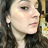 Tarte Liquid Chrome Paint as Highlighter and Eyeliner