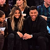 Ciara and Russell Wilson Look Like They Got Struck by Cupid's Arrow a Few Days Early During Their Cute Basketball Date