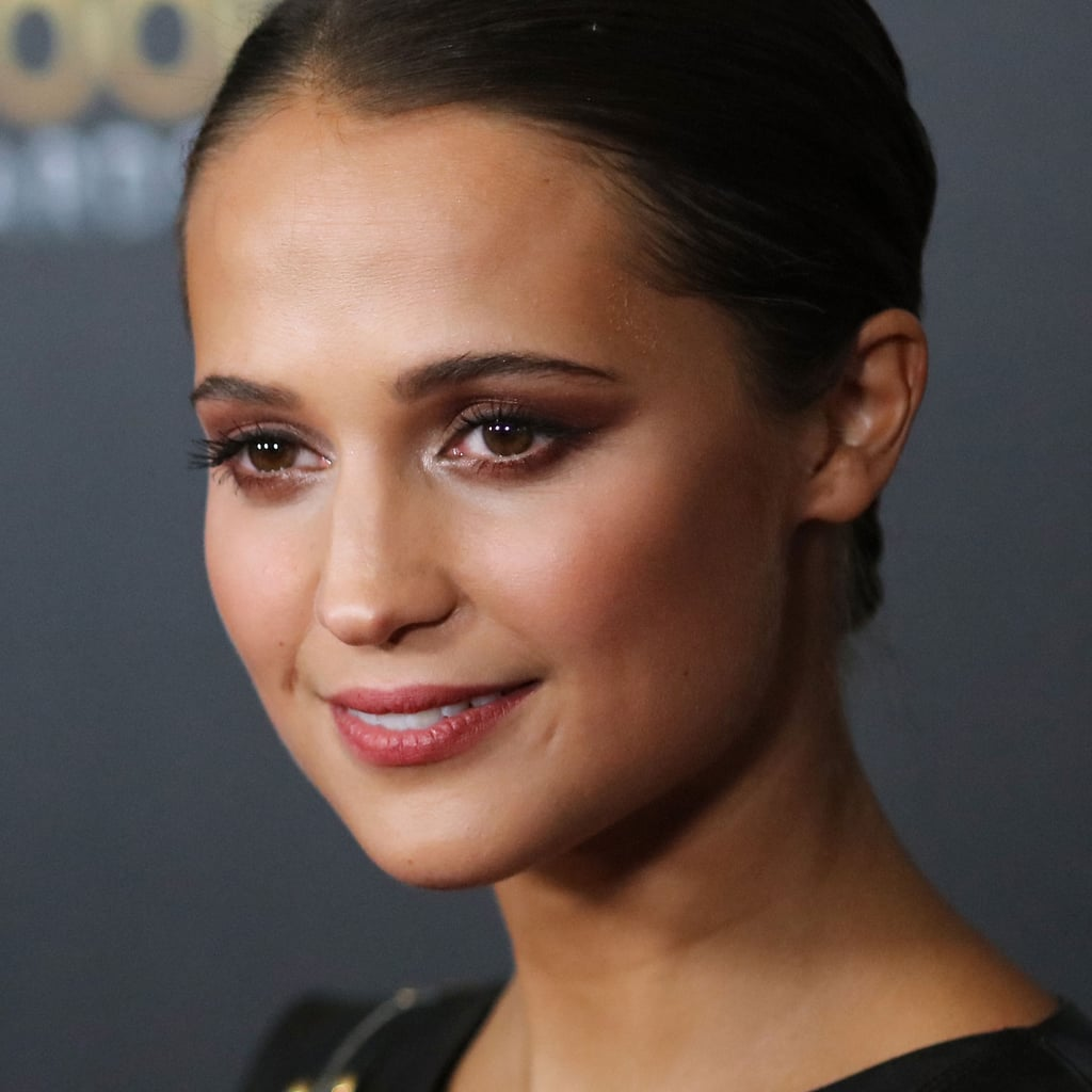 Alicia Vikander Hair and Makeup Over the Years