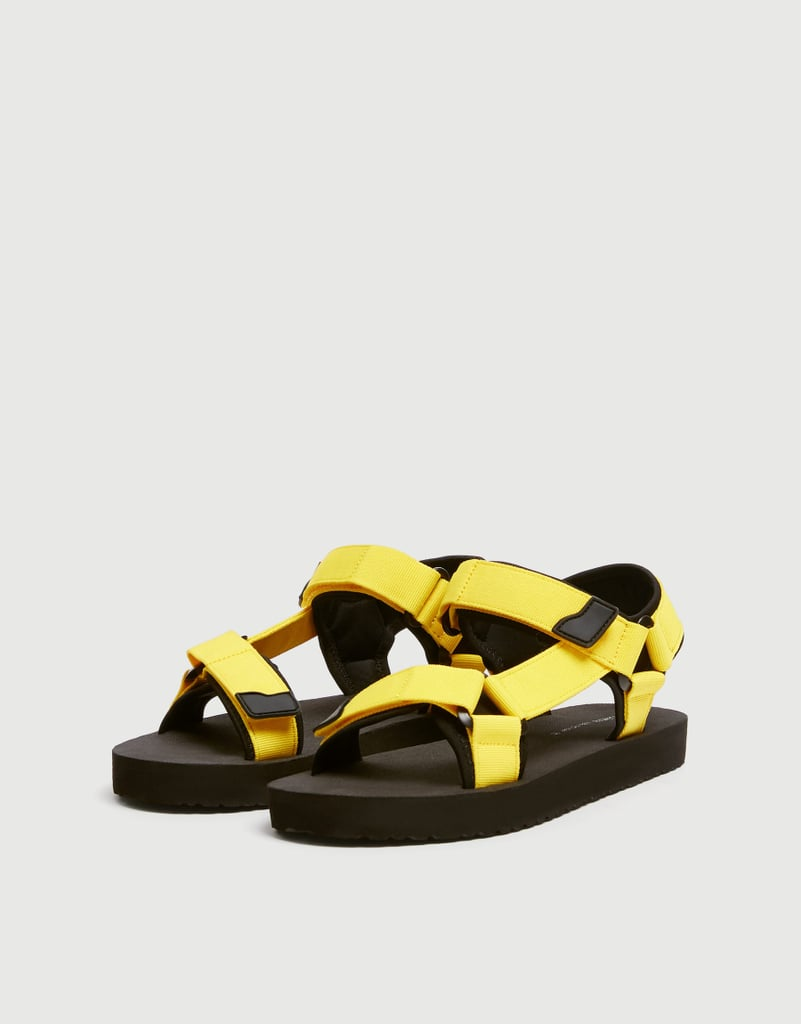 0177d61760b pull&bear Neon sports sandals | Shoes Every Woman Should Own in Her ...