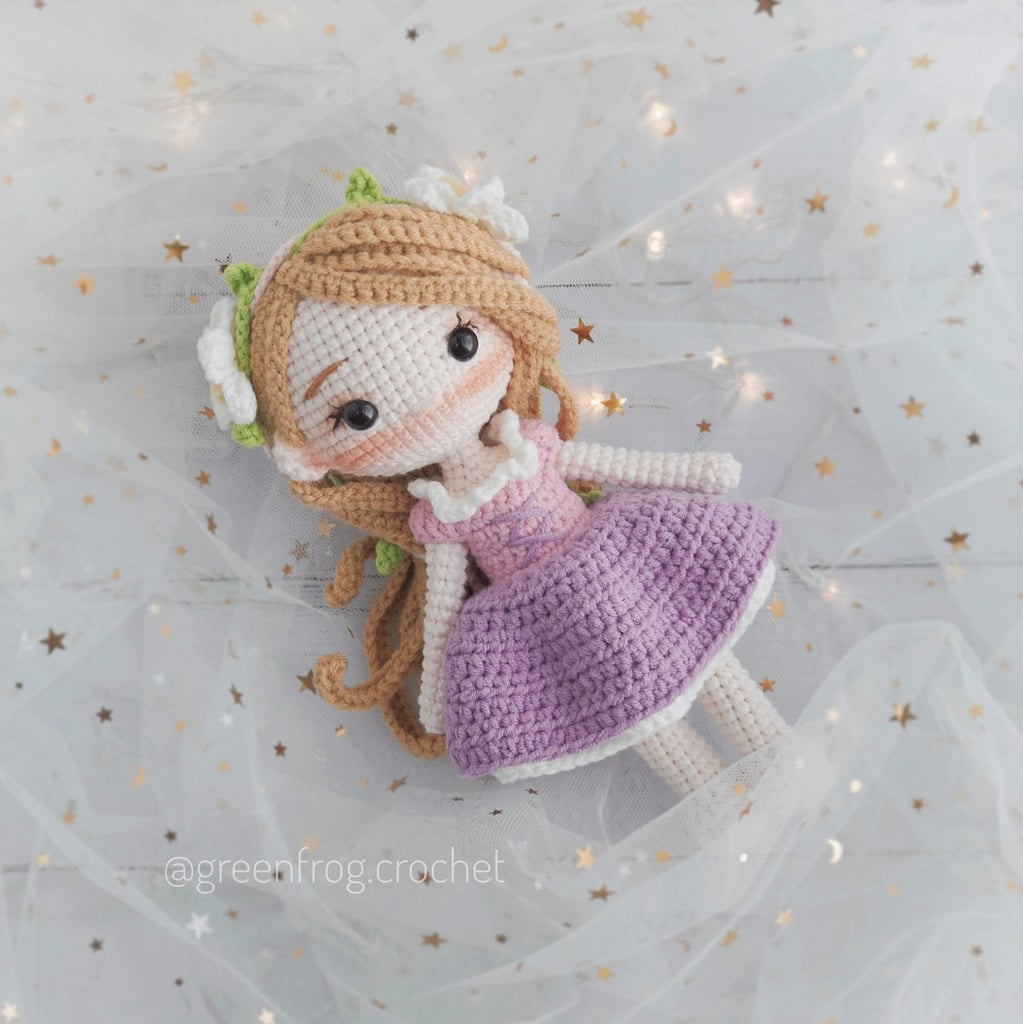 Disney Princess Doll Crochet Pattern — Rapunzel