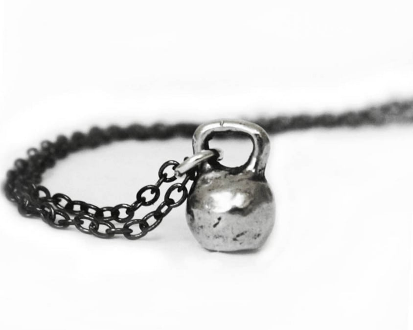 Kettebell Charm and Chain