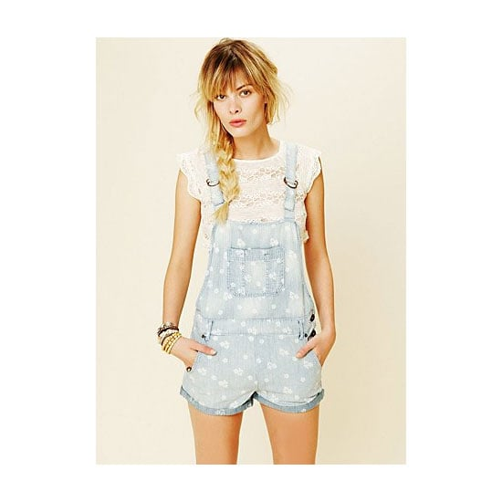 Overalls are a cute alternative to my usual denim cut-offs. I don't wear itty bitty bikinis so I could wear them straight over my swimmers, but I usually wear them with a cropped tank underneath. Also, the baggier the better! — Jess, PopSugar editor Overalls, approx $113, Free People