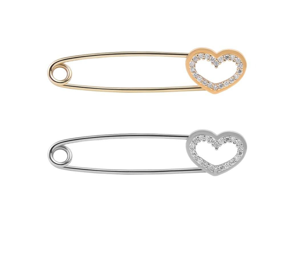 """بروش على هيئة قلب الحب – مجموعة خاصّة من علامة """"إستانا"""" (بسعر 6,100 درهم إماراتيّ)"""