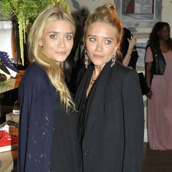 Ashley and Mary-Kate Olsen Superga Party Pictures
