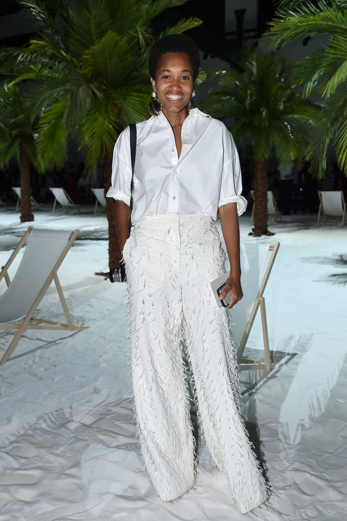Add Texture to an All-White Look