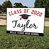 Class of 2020 Diploma Graduation Yard Sign