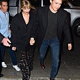 Taylor Swift and Joe Alwyn Attending an SNL Afterparty in Oct. 2019