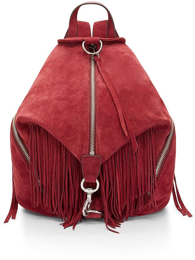 Rebecca Minkoff Suede Fringe Backpack ($395)