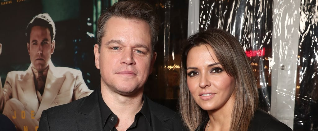 Matt Damon Steps Out With His Lovely Wife For a Red Carpet Date in LA
