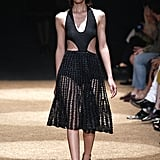 Proenza Schouler's innovative play on sexy with peekaboo, cutout knits.