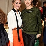 Olivia Palermo and Tamara Beckwith posed for pictures at the store opening of Monica Vinader in London.