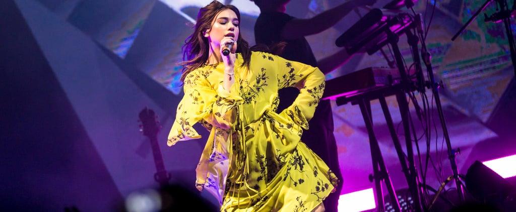 Dua Lipa Abu Dhabi Concert 2018 Pictures