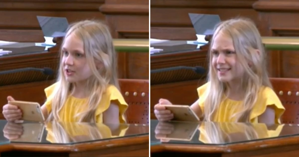This 10-Year-Old's Testimony Against Texas's Latest Anti-Trans Bill Is So Powerful