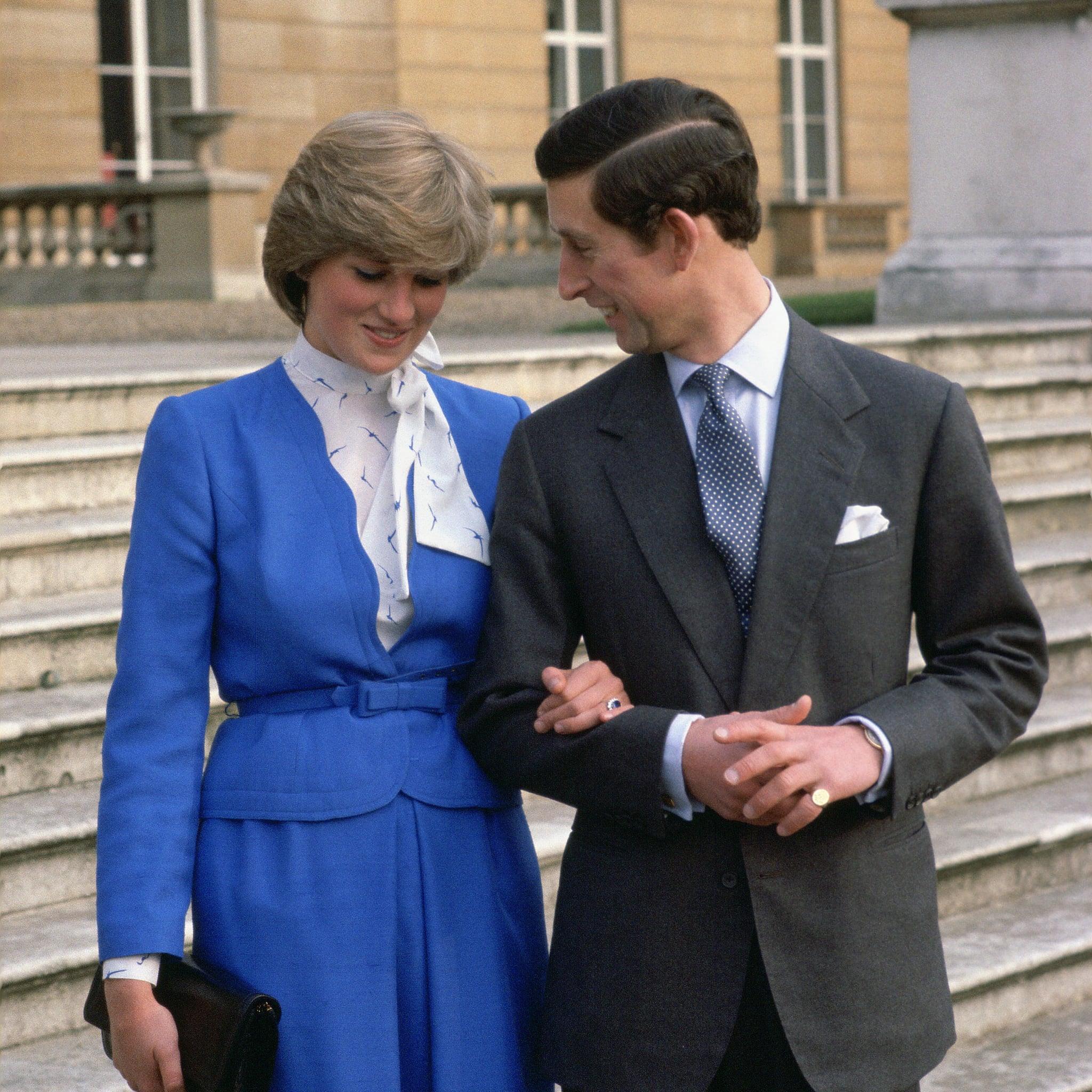 Princess Diana And Prince Charles S Engagement Photos Popsugar Celebrity