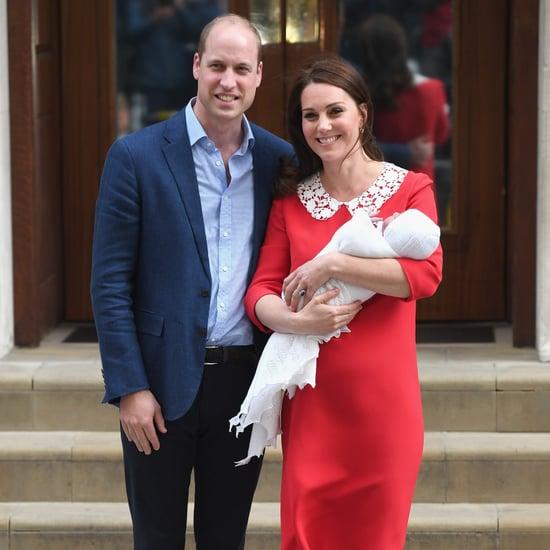 Kate Middleton Red Dress Leaving Hospital 2018
