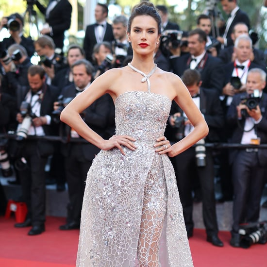 Alessandra Ambrosio Wears a Zuhair Murad Jumpsuit in Cannes