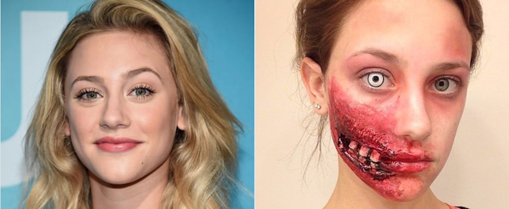In Case You Missed It, Riverdale's Lili Reinhart Has Crazy-Good SFX Makeup Skills