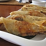 Crispy and scrumptious Spring rolls filled with beef.