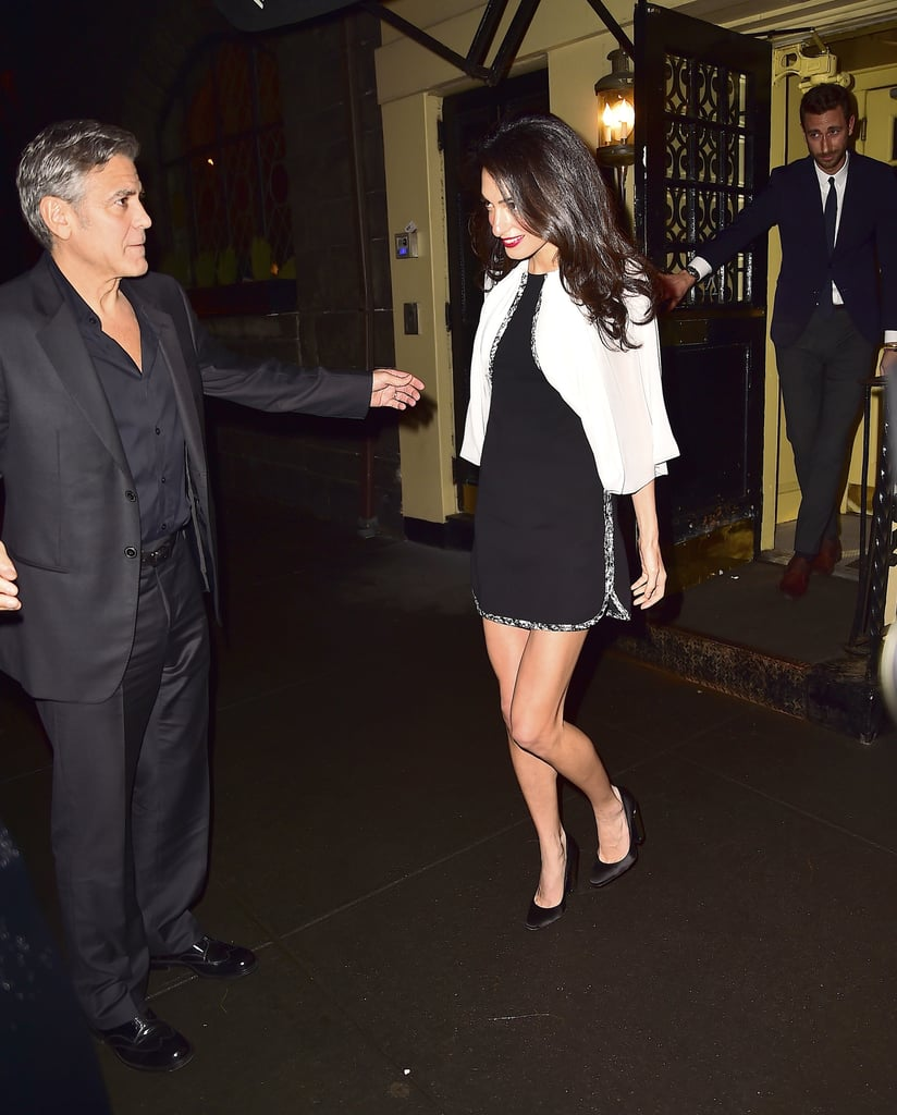 Who Needs to Accessorize When You've Got Legs Like Amal Clooney?