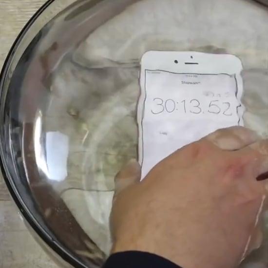 New Waterproof iPhone