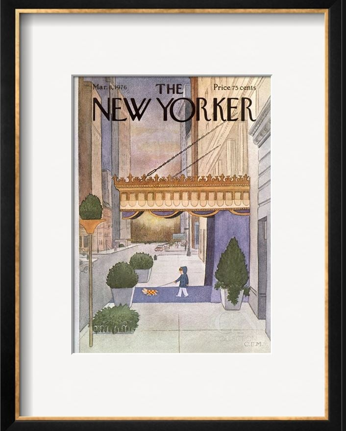 The New Yorker Print, Approx. $238
