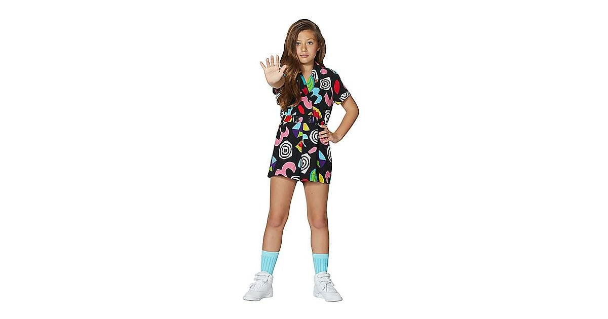 kids eleven geometric romper from stranger things  best