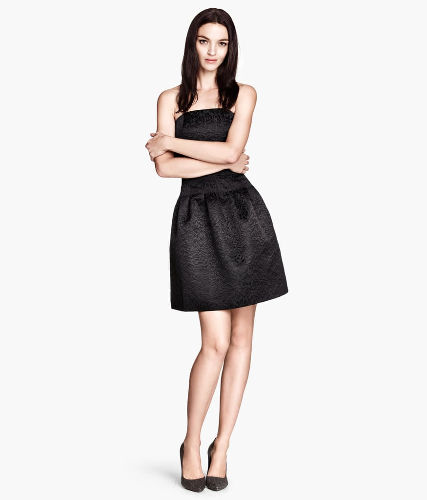 We adore the ultraflattering shape of this H&M Jacquard Dress ($50).